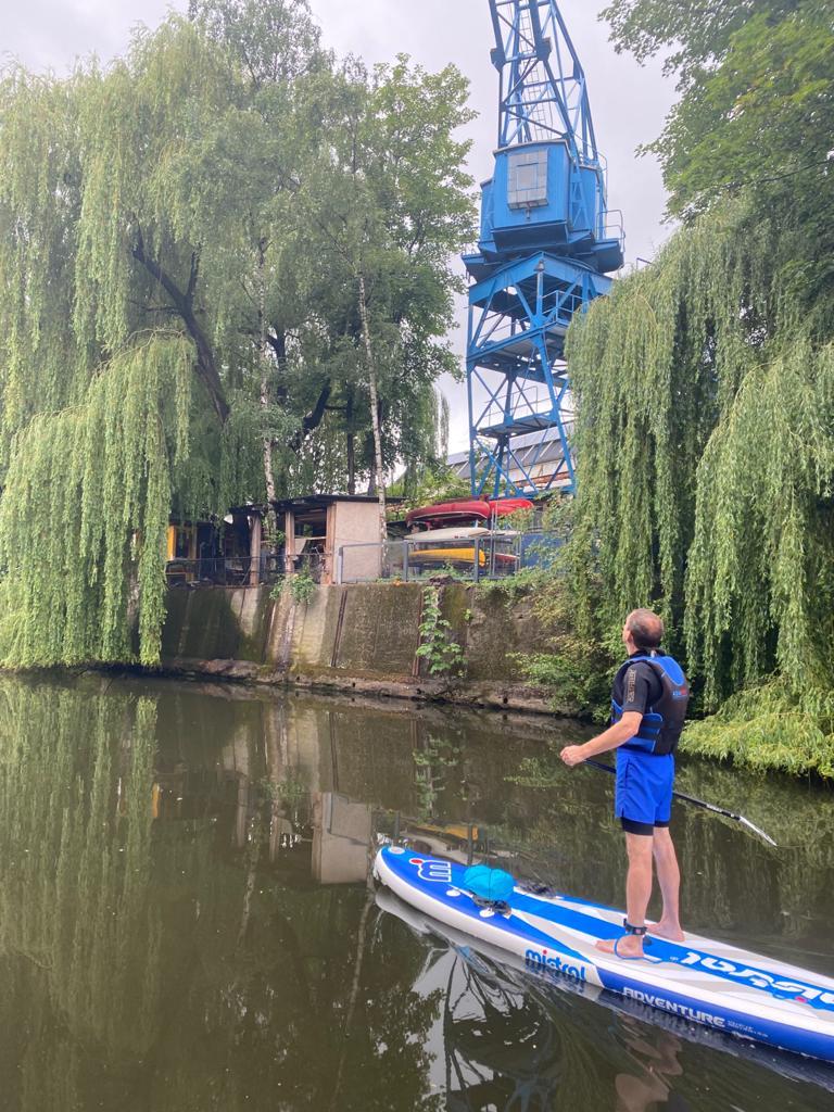 SUP-Ausflug Hamburg mit fun
