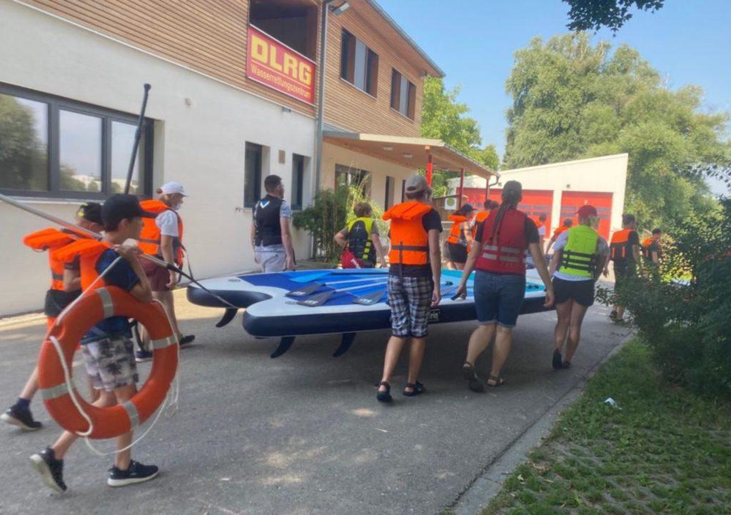 Safety First beim Sup + DLRG in Regensburg