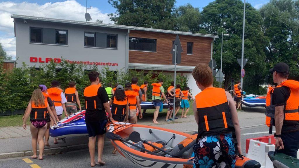 BIG-SUP Event, Teaming, Spass, Freude und Leidenschaft, Stand up Paddling Regensburg