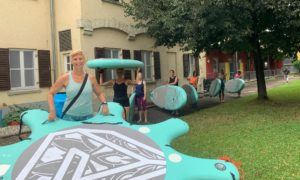 SUP-Yoga aktiv bei safeand.fun, Spass, Action, Leidenschaft