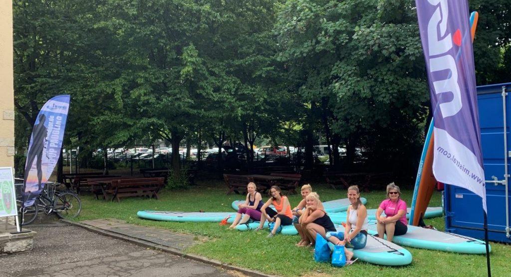 SUP-Yoga bei safeand.fun